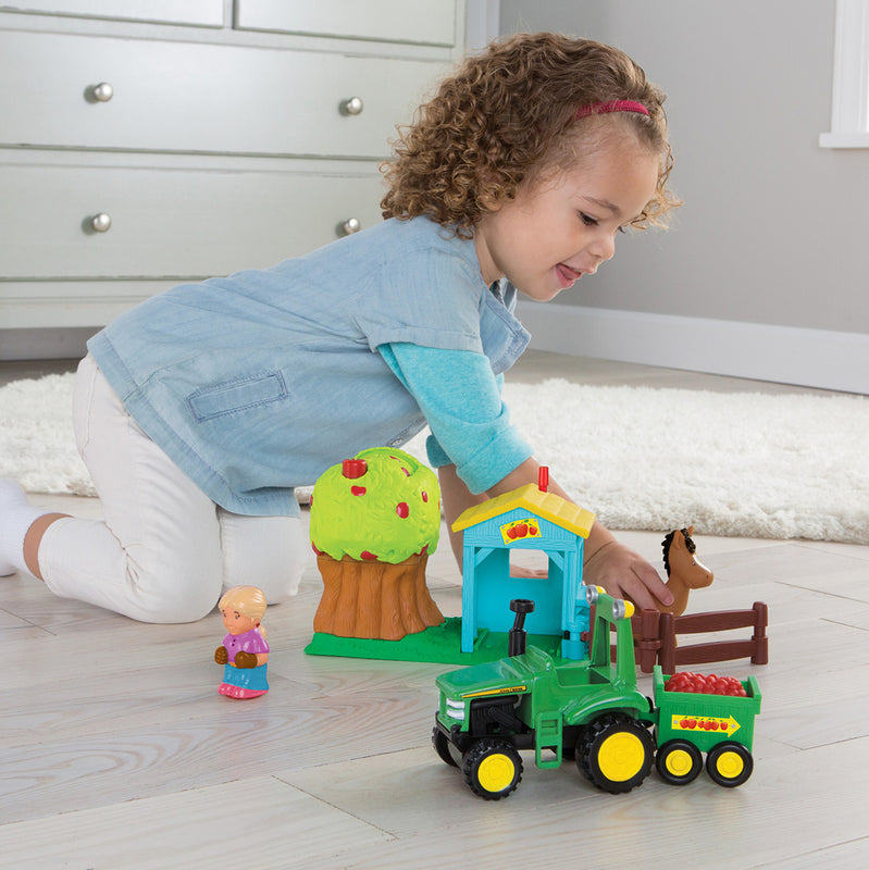John Deere 1st Farming Fun Apple Orchard Toy Set