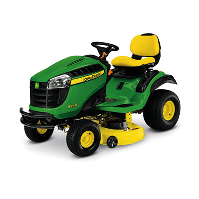 S240 42 in. 18.5 HP V-Twin Gas Hydrostatic Lawn Tractor