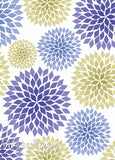 Chrysanthemums | Lime and Indigo