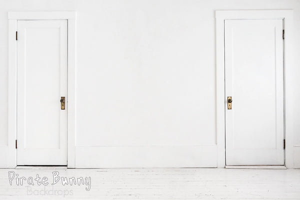 White Door Wall | Double Wide