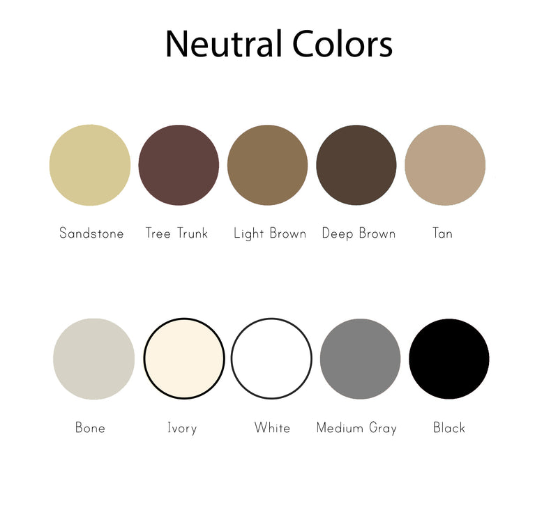 Solid Neutral Colors Photography Backdrops
