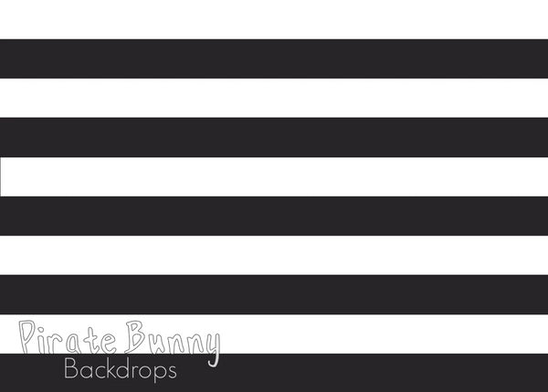 Large Stripes | Horizontal | Neutral Colors