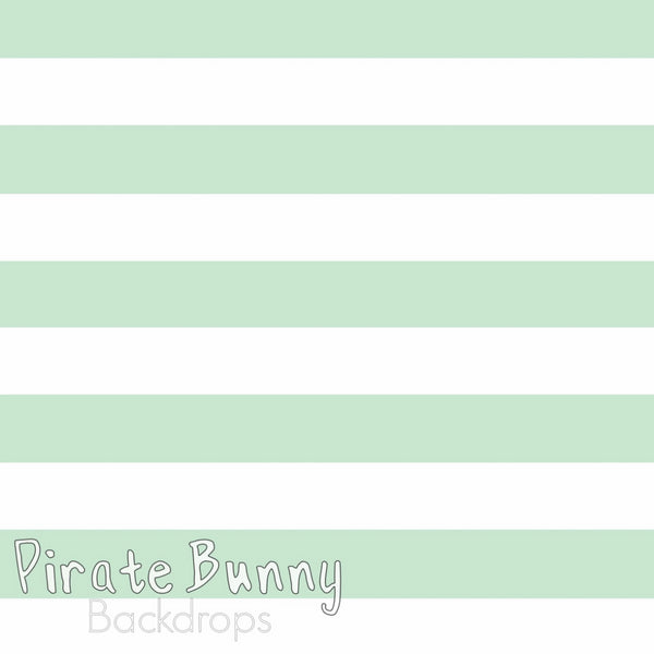 Large Stripes | Horizontal | Pastel Colors