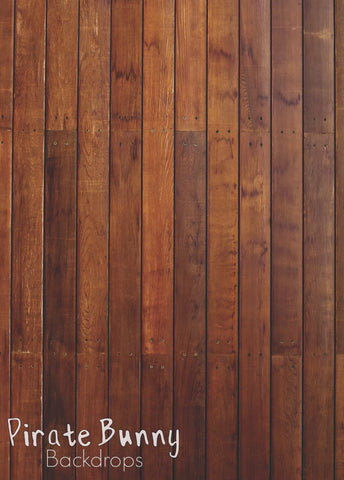 Warm Wood Floor Boards