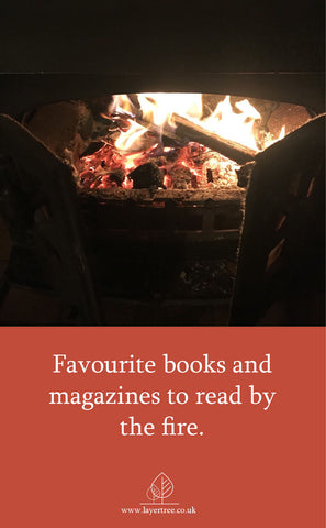 wood burner fireplace books