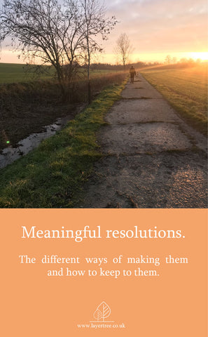 meaningful resolutions