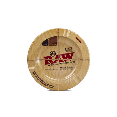Raw Metal Ashtray - Green House