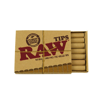 RAW Pre-Rolled Tips - Green House