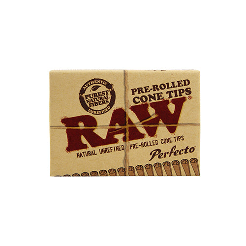 RAW Pre Rolled Perfecto Cone Tips - Green House
