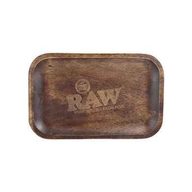 RAW Wooden Tray - Green House