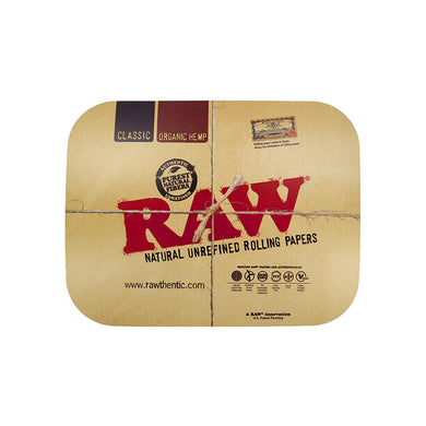 RAW Rolling Tray Cover - Green House