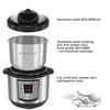 Instant Pot Lux 8qt 6-1 Multi-Use Programmable Pressure Cooker