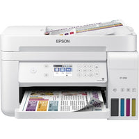 Epson - EcoTank ET-3760 Wireless All-In-One Inkjet Printer - White