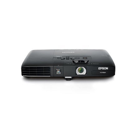 Epson PowerLite 1761W, WXGA, Wireless, 2600 Lumens Color Brightness, 2600 Lumens White Brightness, Ultra Lightweight 3LCD Projector