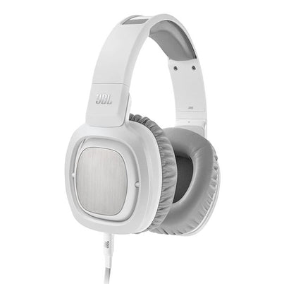 JBL J88i Premium Over-Ear Headphones with Microphone - White
