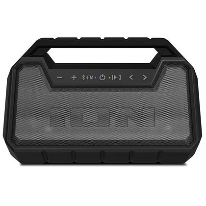 Ion Surf Floating Waterproof Stereo Boombox - Black