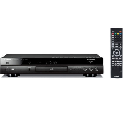 Yamaha AVENTAGE BD-A1060BL 4K Upscaling Wi-Fi and 3D Blu-ray Disc Player (Black)