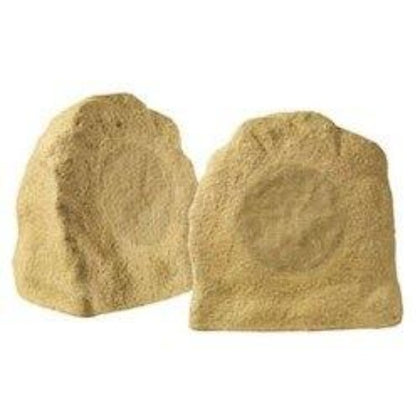 Nuvo NV-AP16RS 6.5 Inch Outdoor Rock Speaker - Sandstone - Pair