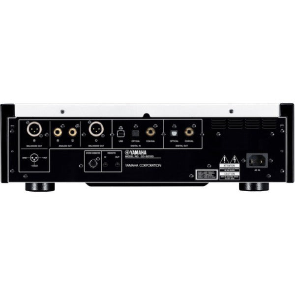 Yamaha CD-S2100BL High-Grade CD Player (Black)