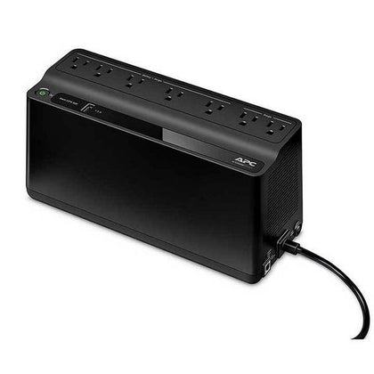 APC BE600M1-600VA UPS Battery Backup & Surge Protector with USB Charging Port, APC UPS Back-UPS