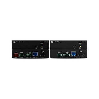Atlona AT-UHD-EX-70C-KIT |+C58 4K/UHD 230' HDBaseT Tx/Rx with IR/Rs232 Control and Poe