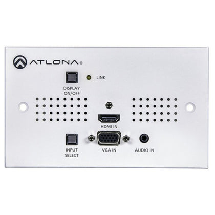 ATLONA AT-HDVS-150-TX-WP HDBaseT Transmitter Wall Plate