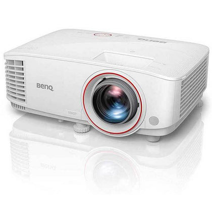 BenQ TH671ST 1080p DLP Home Theater Short Throw Projector 3000 Lumens, for Gaming, Ambient Light Sensor