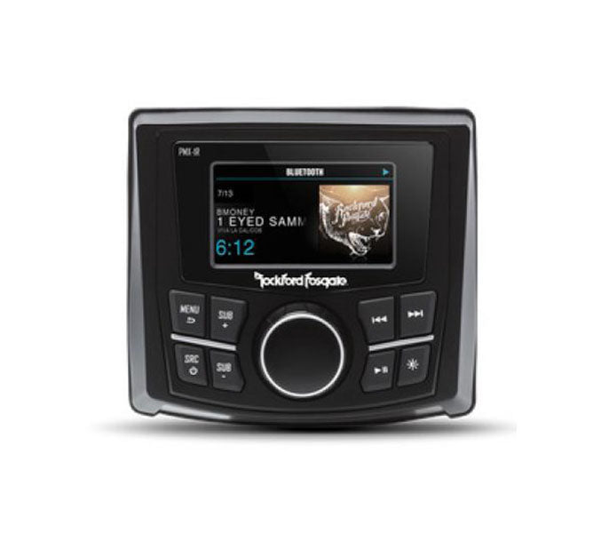 Rockford Fosgate PMX-1R Punch Wired Remote, 2.7 inch Color Display, Black