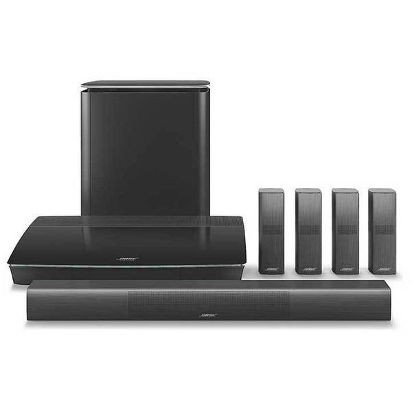 Bose Lifestyle 650 Home Theater Surround Sound Entertainment System, Black