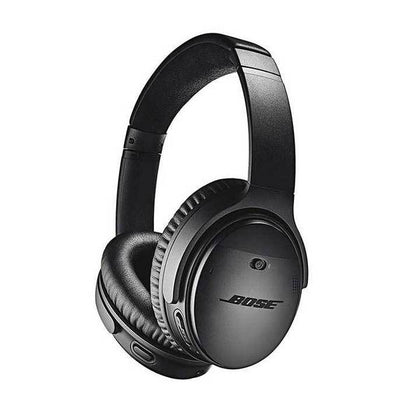Bose QuietComfort 35 II Wireless Bluetooth Headphones, Noise-Cancelling, with Alexa voice control, enabled with Bose AR – Black