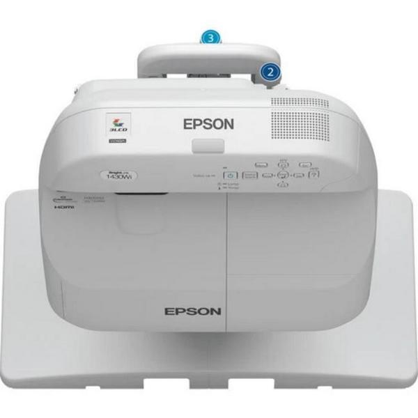 Epson BrightLink Pro 1430Wi WXGA Ultra Short Throw (UST) V11H665520 Projector