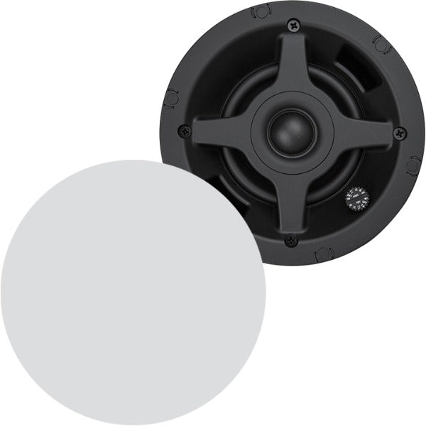 "SONANCE PS-C43RT Pro Series 4"" Round In-Ceiling Speaker, WHITE (PAIR)"