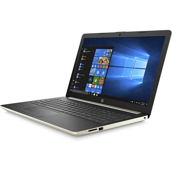 HP 15-DY1074NR 15.6″ Notebook - Core i3 1005G1 1.2 GHz - 8 GB, 8 GB RAM - 256 GB SSD - Vertical Brushed Pattern Natural Silver Ash Silver Keyboard Frame