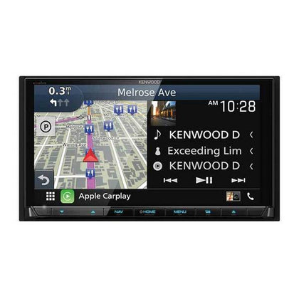 Kenwood Excelon DNX995S 6.75 inch In-Dash Blutooth Navigation System - Apple CarPlay