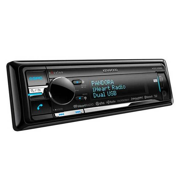 Kenwood eXcelon KDC-X998 CD Receiver with Built-in Bluetooth and HD Radio