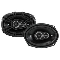Kicker 43DSC69304 D-Series 6x9 inch 360 Watt 3-Way Car Audio Coaxial Speakers