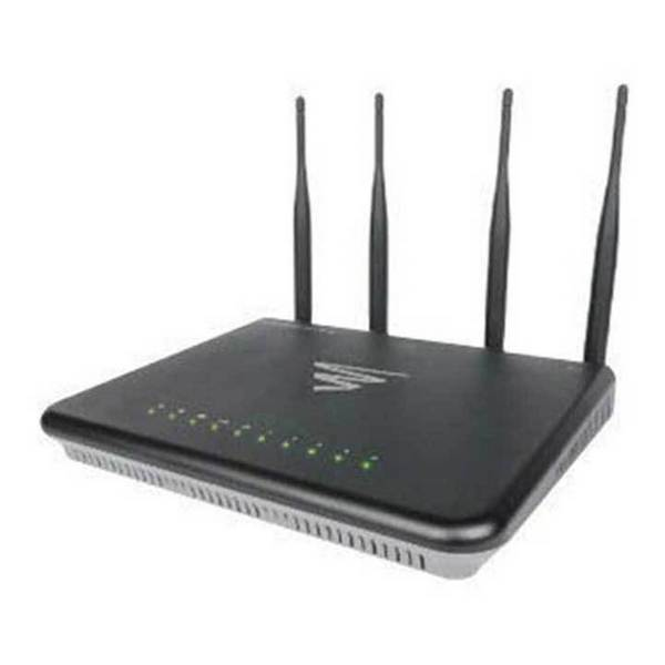 LUXUL XWR-3150 Epic 3 Dual-Band Wireless AC3100 Gigabit Router with Domotz