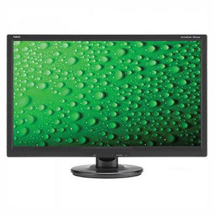 NEC AS242W-BK Widescreen LED Backlit 24inch Screen LCD Monitor
