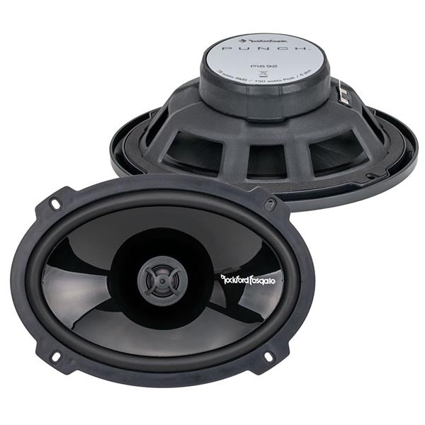 "Rockford Fosgate Punch P1692 2-way Speaker - Pair - 6"" x 9"""