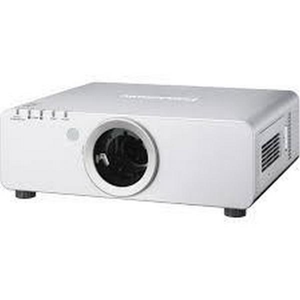 Panasonic PT-DW740ULS 1-Chip 7000 Lumens DLP Projector (Silver)