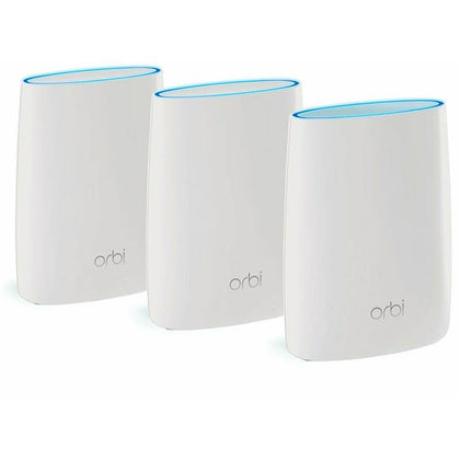 Netgear Orbi High Performance RBK53S AC3000 Triband Whole Home WiFi 3P White