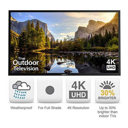 SunBriteTV - SB-7574UHD-BL Weatherproof Outdoor 75-Inch Veranda 4K Ultra HD LED