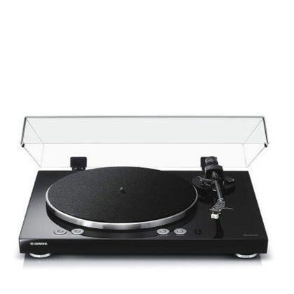 Yamaha TTN503BL VINYL 500 Wireless Two-Speed Stereo Turntable (Piano Black)