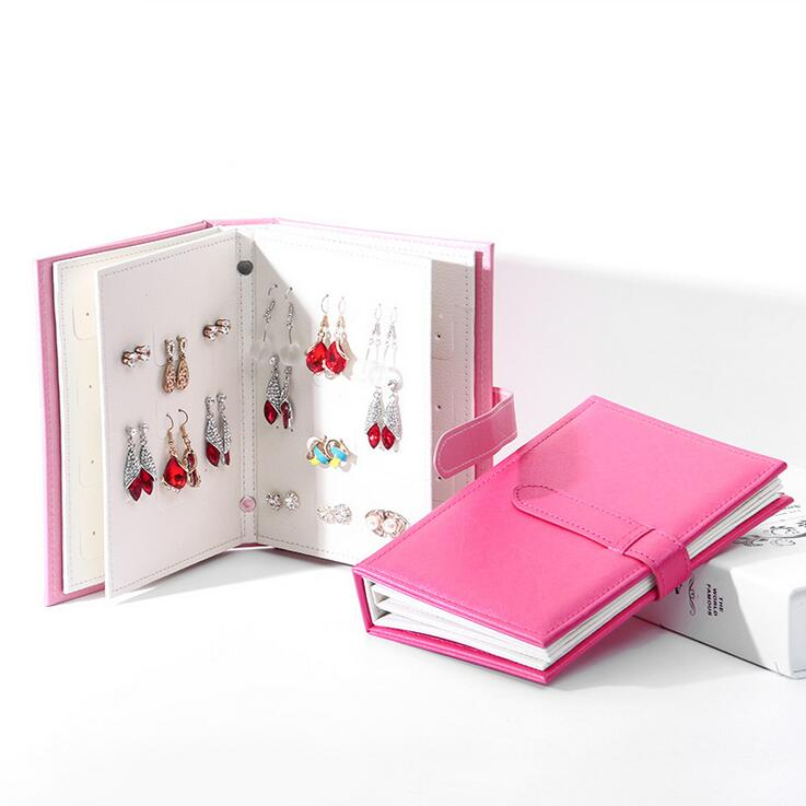 Earrings Collection Leather Book