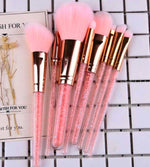Crystal Cosmetic Makeup Brushes Set