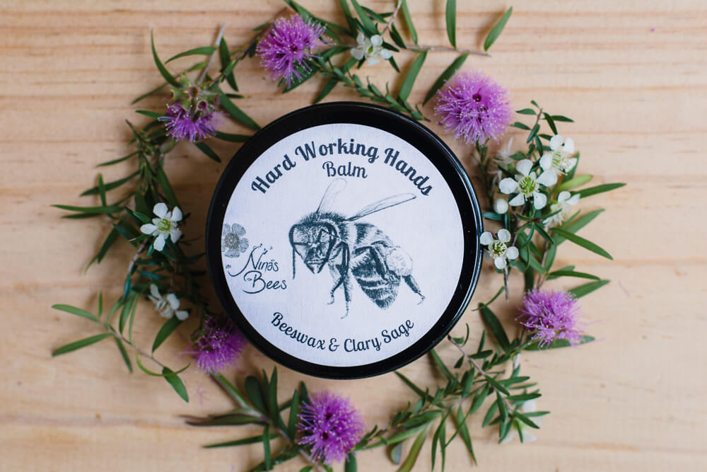 Nina's Bees Hard Working Hands Balm