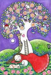 'Dream Tree' A4 Archival print by Lindy Longhurst