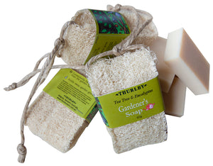 Gardeners Loofah Tap Soap from Thurlby Herb Farm