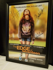 Signed by Hailee Steinfeld, Haley Lu Richardson, Blake Jenner