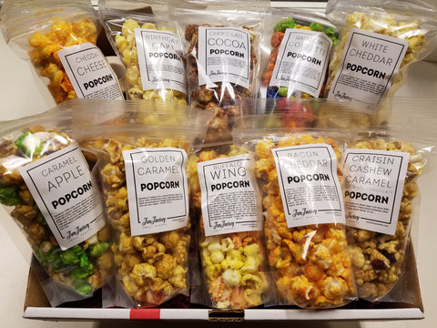 Popcorn Sampler Assortment - Gift Box Shipper